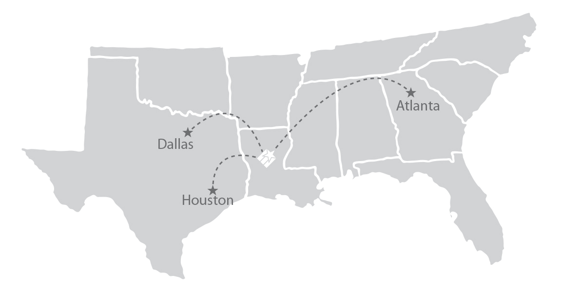 AEX-flight-map